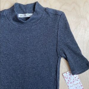 NWT Free People mock neck top